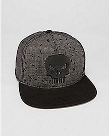 Punisher Snapback Hat