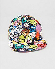Sublimated Adventure Time Snapback Hat