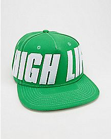 Green High Life Snapback Hat