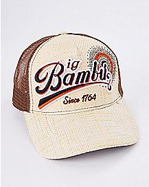 Bambu Straw Trucker Hat