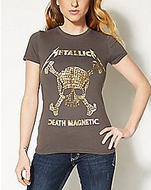 Death Magnetic Metallica T shirt