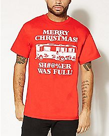 Christmas Vacation Sh#@%er Was Full T shirt
