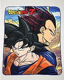 Dragon Ball Z Goku Vegeta Fleece Blanket