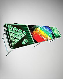 Acrylic Light Up Beer Pong Table - 8 ft