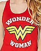 Star Back Wonder Woman Tank Top