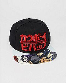 Cowboy Bebop Snapback Hat