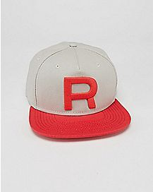 Embroidered Team Rocket Pokemon Snapback Hat