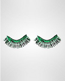 Green False Eyelashes