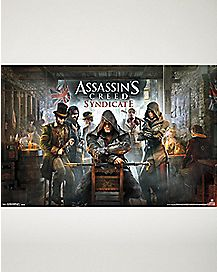 Syndicate Assassins Creed Poster