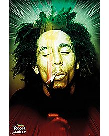 Smoking Bob Marley Poster