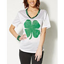 Lucky Bitch Clover St. Patricks Day Jersey - Spencer's