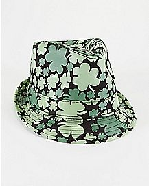 Clover St. Patrick's Day Fedora Hat