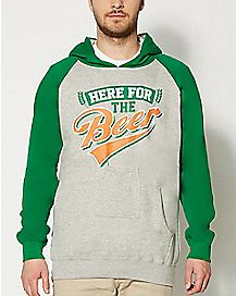 Here for the Beer Pocket Hoodie