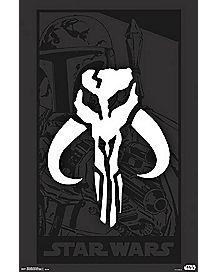 Warriors of Mandalore Star Wars Poster