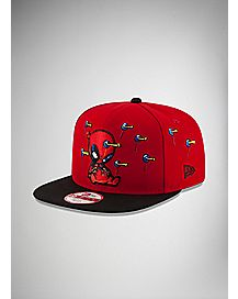 New Era Plunger Deadpool Snapback Hat