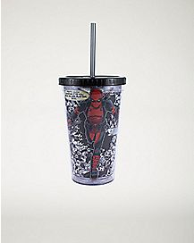 Quote Running Deadpool Cup With Straw 16 oz. - Marvel  Comics