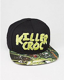 DC Comics Forever Evil Killer Croc Snapback Hat