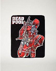 Deadpool Guns Fleece Blanket - Marvel Comics