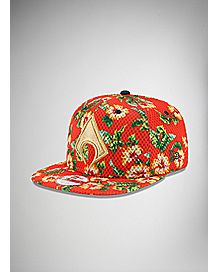 New Era Floral Aquaman Snapback Hat