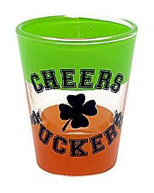 Cheers Fuckers Shot Glass 1.5 oz