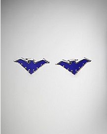 Cut Out Nightwing Stud Earrings