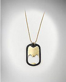 Bottle Opener Dog Tag Necklace