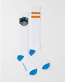 Athletic Stripe Dragonball Z Knee High Socks