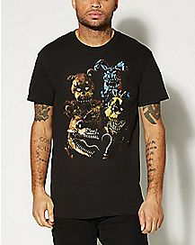 Group Five Nights at Freddy's T shirt
