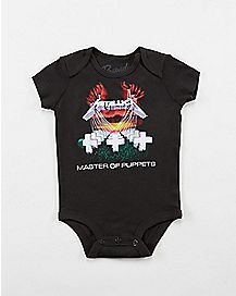 Metallica Master of Puppets Baby Bodysuit