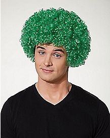 Green Afro St. Patrick's Day Wig