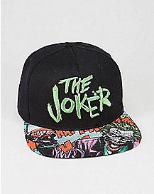DC Comics Forever Evil Joker Snapback Hat