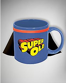 Super Old Caped Coffee Mug - 20 oz.