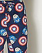 Face Shield Captain America Marvel Lounge Pants