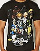 Group Kingdom Hearts T Shirt