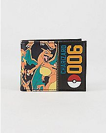 006 Charizard Pokemon Bifold Wallet