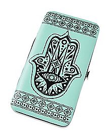 Tribal Hasma Hand Hinge Wallet