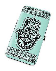 Tribal Hasma Hand Hinge Wallet