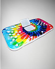 Tie Dye Inflatable Beer Pong Table Cooler - 6 ft
