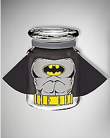 Caped Batman Storage Jar 6 oz