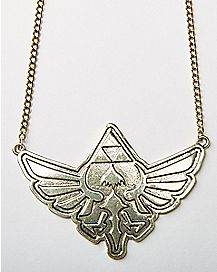 Logo Legend Of Zelda Necklace