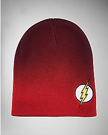 Dip Dye The Flash DC Slouch Beanie Hat