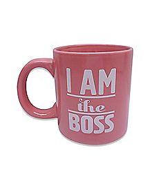 I'm The Boss Coffee Mug - 22 oz.