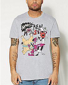 Aaahh!!! Real Monsters Nickelodeon T shirt