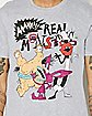 Aaahh!!! Real Monsters Nickelodeon T shirt
