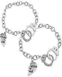 Heart Partners In Crime Bracelet 2 Pack
