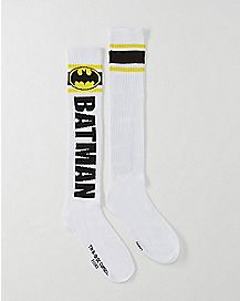 Batman Logo Knee High Socks