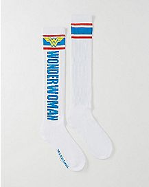Logo Wonder Woman Knee High Socks