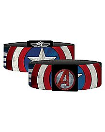 Captain America Sheild Elastic Bracelet