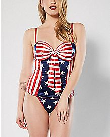 Americana Corset and G-String