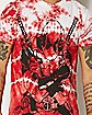 Red Tie Dye Deadpool T Shirt - Marvel Comics